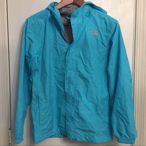 Gently used girls North Face hyvent jacket